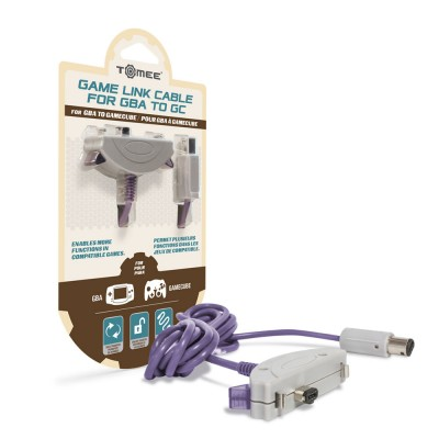 GBA: GBA/SP TO GAMECUBE LINK CABLE - TOMEE (NEW)